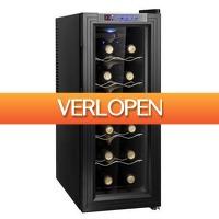 Stuntwinkel.nl: Wijnkoelkast / wijnklimaatkast voor 12 flessen