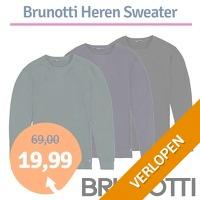Brunotti Nicco heren sweater