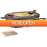 EP.nl: Princess Raclette 8 Oval Grill Party