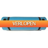 Betersport.nl: Yoga mat - Focus Fitness Pro - blauw