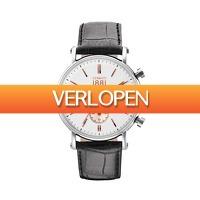 Dailywatchclub.nl: Cerruti 1881 Tremezzo (CRA110STR01BK) horloge herenhorloge -57%