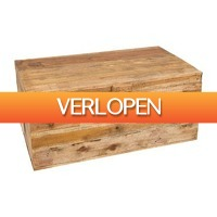 Xenos.nl: Recycle kist/salontafel