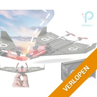 Papieren vliegtuig kit met VR bril