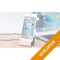 Oplaadstation voor iPhone