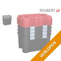 4 x Allibert Totem opbergbox