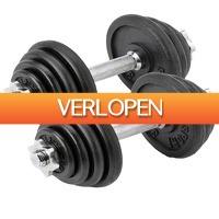 Betersport.nl: Dumbbell 15 kg - 2 stuks