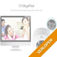 COTIER 1.3 MP IP fisheye camera