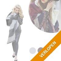 Warme pashmina sjaals