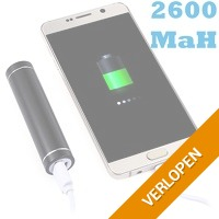 2600 mAh powerbank