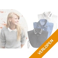 Diamond blouse kraagjes