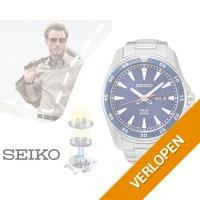 Seiko Solar 10ATM herenhorloge