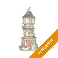 FD WO Kersthuisje Christmas clock tower LEMAX