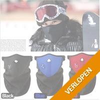 Fleece sport masker
