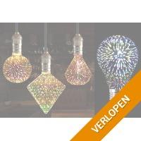 LED-vuurwerklamp