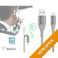 Belkin 120cm duratek MFI Lightning kabel