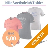Nike shirts voetbalclubs print