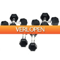 Betersport.nl: Hexa Dumbbells - Focus Fitness - 2 x 7 kg