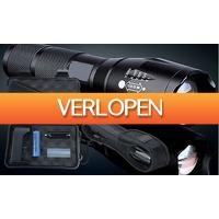 HelloSpecial.com: Veiling: militaire zaklamp met accessoires box