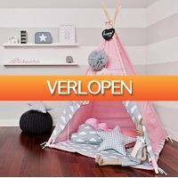 HelloSpecial.com: Veiling: kids tipi tent roze