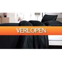 ActievandeDag.nl 1: Satin Point dekbedovertrek