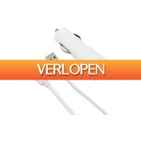 MargeDeals.nl: Lightning of micro-USB autoladers