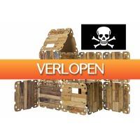Stuntwinkel.nl: Hutten bouwpakket 'Piraten Editie' (47-delig)