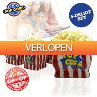 voorHAAR.nl: 5-delige popcornset
