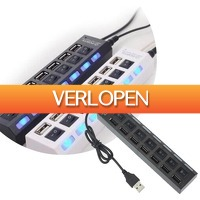 Slimmedealtjes.nl: High speed USB hub