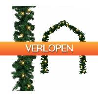 VidaXL.nl: vidaXL kerstslinger met LED-lampjes