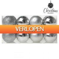 TipTopDeal.nl: Christmas Planet kerstballen (16 stuks)