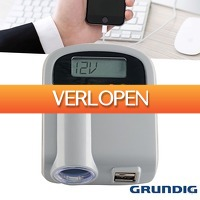Wilpe.com - Elektra: Grundig powerstation & spanningsmeter