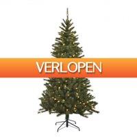Blokker: Black Box kerstboom Kingston met ingebouwde verlichting
