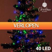 TipTopDeal.nl: Christmas Planet Kerstlampjes (40 LEDs)