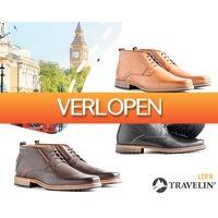 1Dayfly Extreme: Travelin' London leren & suede schoenen