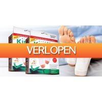 CheckDieDeal.nl 2: 10 x Kinoki Detox Pads voetpleisters