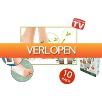 6deals.nl: Detox voetpleisters