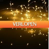 Grotekadoshop.nl: Zilverdraad met 100 LEDs (set van 4 stuks)