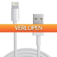 Dennisdeal.com: Lightning kabel voor iPhone/iPad/iPod kabel