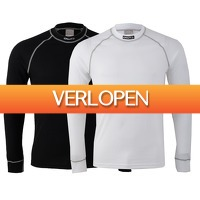 Plutosport offer: Craft Be Active Multi Longsleeve thermo top (2-pack)