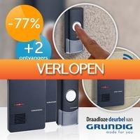 Slimmedealtjes.nl: Grundig draadloze deurbel