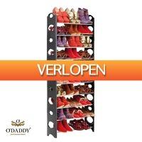 GroupActie.nl: Schoenenrek voor 30 paar