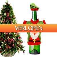 CheckDieDeal.nl 2: Kersttrui en muts voor fles