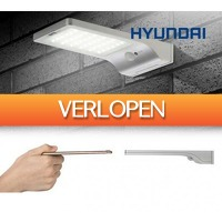 Koopjedeal.nl 1: Ultradunne Hyundai LED Solar buitenlamp met sensor
