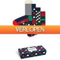 Bol.com: Tot 50% korting op Happy Socks giftboxen