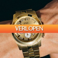 Watch2day.nl: JBW Delano Diamonds Chronographs horloge