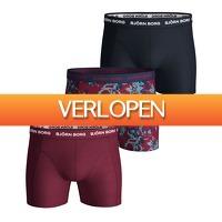 Plutosport offer: 3 x Bjorn Borg Fleurs De Jardin boxershorts