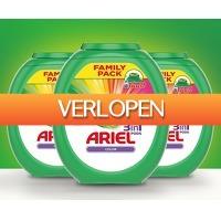 Voordeelvanger.nl: 240 x Ariel Color Waspods