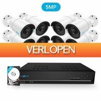 Epine.nl: Reolink RLK16-410B8 PoE 5MP Camerasysteem
