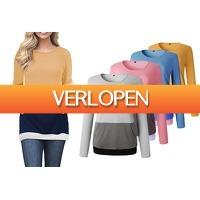 VoucherVandaag.nl 2: Dames sweatshirt