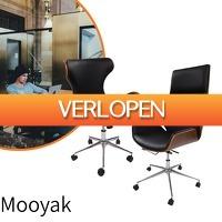 Euroknaller.nl: Mooyak lederen design bureaustoelen
